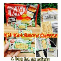 [BAG / isi 12pc minis] Kit Kat BAG BAKED CHEESE Or