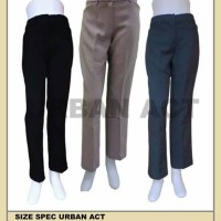 urban act ladies pant black