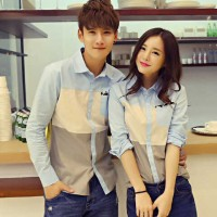 Kemeja Couple Young Tritone