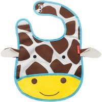 Skiphop Zoo Tuck Away Bib Giraffe