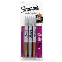 Harga sharpie metallic fine point set isi 3 gold silver bronze | antitipu.com