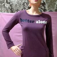 Shirt Dark Purple Long Hand (BS SH 12)