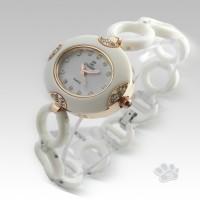 Chanel Fiber Link Oval (White Gold)