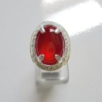 harga batu cincin merah darah rasa delima memukau gan Tokopedia.com
