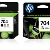 Tinta Hp 704 Black Original