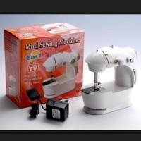 Jual Mesin Jahit Mini 4in1 Lengkap dengan Lampu (Sewing Machine FHSM 201) Murah