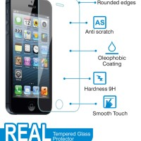 Anti Gores Tempered Glass Asus Zenfone 4
