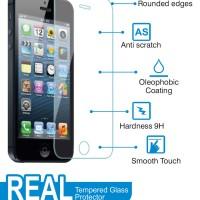 Anti Gores Tempered Glass Blackberry Z3