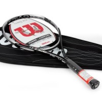 Raket tenis Wilson Blx Three 117 Black SILVER PLATINUM