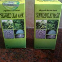 Seaweed Clay Mask Masker Herbal Organik