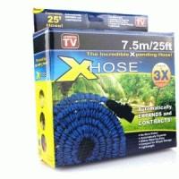 X hose 7.5 Meter 25 Feet Ft selang air termasuk KEPALA spray