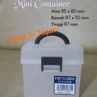 harga [japan] Mini Container Mini Box Kotak Plastik Obat Perhiasan Aksesoris Tokopedia.com
