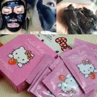 Jual ((Asli 100%, ya)) Masker Pemutih Wajah-NATURGO HELLO KITTY Murah
