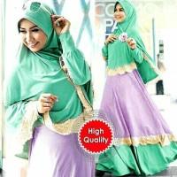 hijab gamis pelangi