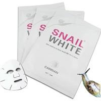 Murahh Snail White Mask Masker Wajah Pembersih Kulit / Komedo / Jerawat
