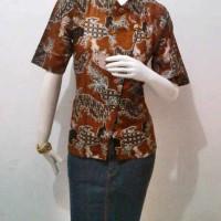 Blus Marinka Syanghai, Batik Wanita, Blus, Batik Modern,baju Murah