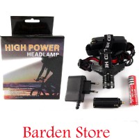 harga High Power Headlamp 0181 / Senter Kepala Cree Led Police Q5 Zoom Fokus Tokopedia.com