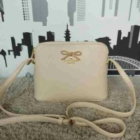 TAS BRANDED KATE SPADE MANDY RIBBON CREAM PREMIUM QUALITY