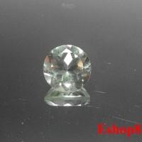 Batu Permata Natural Prasiolite Quartz Round 7x7