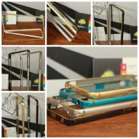 Bumper List GOLD Premium sony Z2,Z3/Iphone 4,5,6/Samsung A3,E7,A5