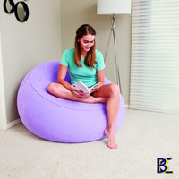 Sofa Angin Inflate-A-Chair Bestway 75052 - Ungu