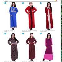 PAKAIAN BAJU MUSLIM GAMIS 8 BHJ 0154- Pakaian wanita online