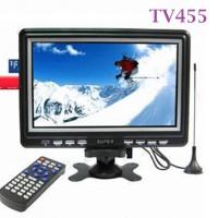 TV Mini Portable Analog 7,5 Inchi Teman Keren Travelling - TV455