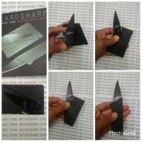 Credit Card folding Safety Knife Pisau berbentuk kartu