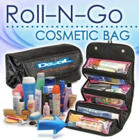 Roll n go makeup organizer make up tas Travel kosmetik bag dompet bags