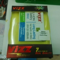 Baterai Battery Vizz Xiaomi Redmi Red Mi Note BM42 BM-42 4200mah