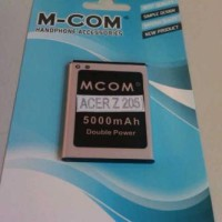 harga Baterai Acer Liquid Z205 Z-205 Mcom Double Power 5000mah Tokopedia.com