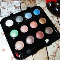 Kiss Beauty Eyeshadow Pallete Magic Cosmetic Kit Silky Texture 3D _ 06