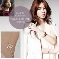 Kalung Gold Key Yoon Eun Hye (I Miss You)