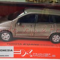 Diecast - Welly FX Toyota Kijang Innova (Brown) Skala1/32 - New in Box