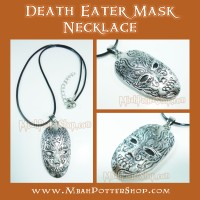 Kalung Topeng Pelahap Maut Harry Potter, Death Eater Mask Necklace