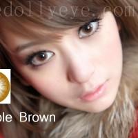 Softlens Bubble / Princess Mint Brown (Coklat)