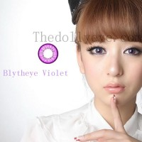 Jual Softlens Blythe Eye / Princess Universe Violet (Ungu) Murah