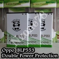 Baterai Oppo BLP553 Oppo U2S, U707T, Find Way Rakkipanda Double Power