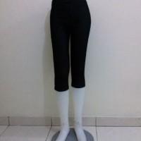 Legging Denim Pendek Kantong Size Medium