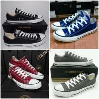 Sepatu Casual Converse All Star Hitam Low