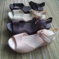 harga Sandal Sepatu Wedges Jelly Kenip 5cm Tokopedia.com