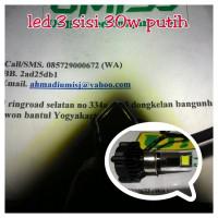 harga Lampu Utama Motor Led Headlam 3 Sisi Putih H6 Bisa H4 Tokopedia.com