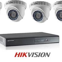 Paket 4 Channel cctv Hikvision DIS 700TVL Infrared