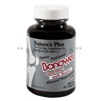 8315A - Suplemen nutrisi vitamin mineral Nature Plus Bonower isi 45