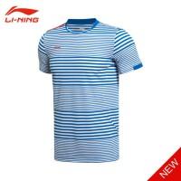 Jual Kaos Badminton Lining Sudirman Cup-2015 A (Blue Sunset) Ltd. Murah
