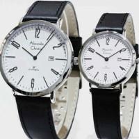 jam tangan pria/wanita alexandre christie sepasang Ac 8433 plt putih