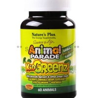 8329A - Nature Plus Kid Greenz isi 60 - suplemen nutrisi vitamin mineral