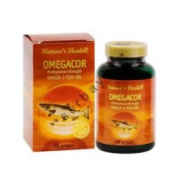 8219A - Nature's Health Omegacor isi 75 - suplemen nutrisi vitamin mineral
