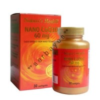 8215A - Nature's Health Nano CoQ10 60 mg isi 30 - suplemen nutrisi vitamin mineral