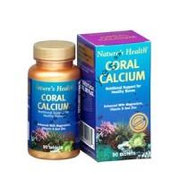 8204A - Nature's Health Coral Calcium isi 90 - suplemen nutrisi vitamin mineral